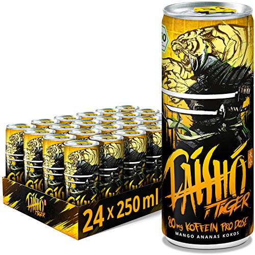 DAISHO - Tiger Bio Energy (vegan), 24er Tray (24 x 250ml)