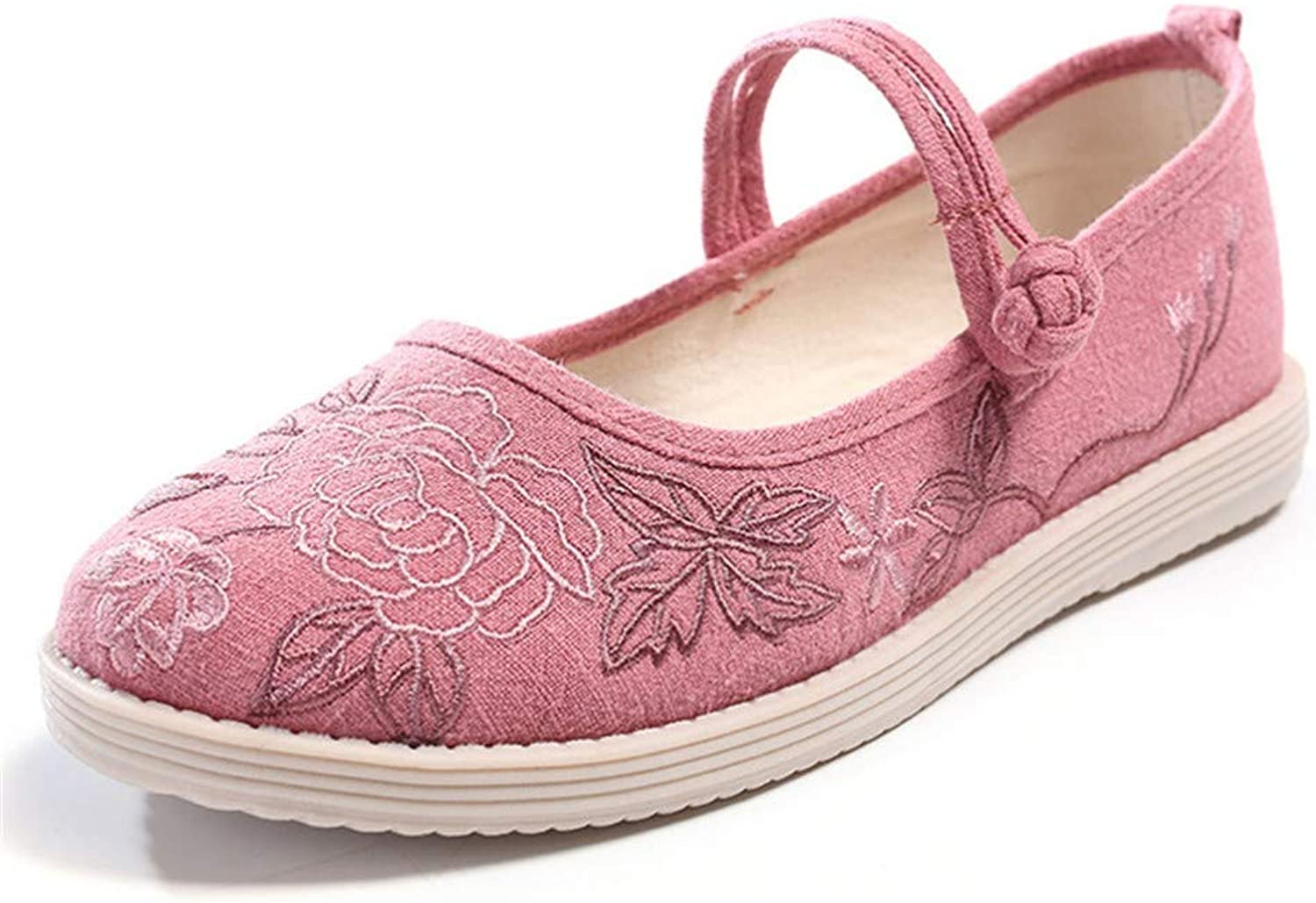 Cloth shoes, Cotton and Hemp Embroidered shoes, Women's shoes, Dancing shoes-YU&Xin