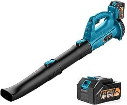 Sponsored Ad – Cordless Leaf Blower - 21V Electric Leaf Blower 320CFM with 4.0Ah Battery & Charger, 6 Adjustable speeds an...