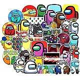 50PCS Game Among Stickers DIY Skateboard Laptop Phone Fridge Guitar Travel Snowboard Car Stickers