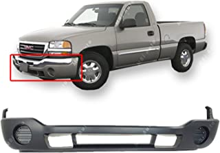 OE Replacement GMC Sierra Front Bumper Cover Partslink Number GM1000684