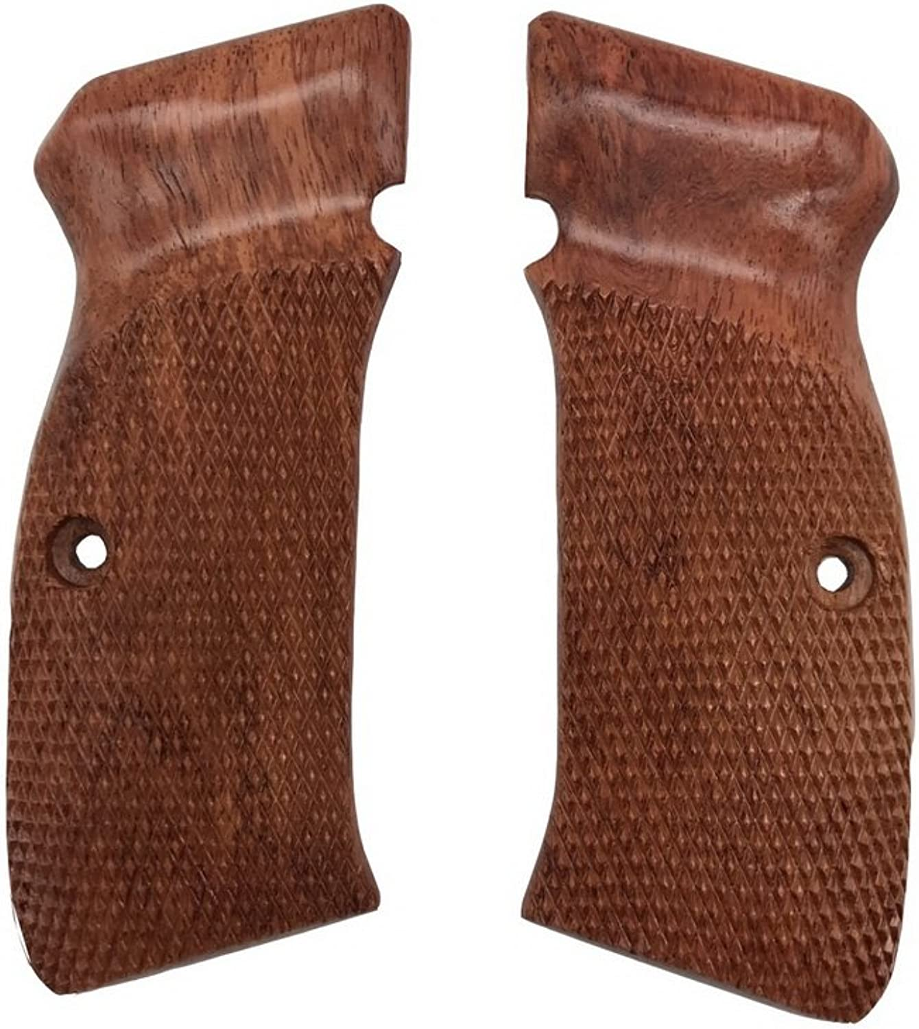 Handicraftgrips Cfw19   New Grips Cz75 Cz85 CZ SP-01 CZ 75B 75BD CZ75B 75 B Grips Full Size Hard Wood Hardwood Checkered Handmade Beautiful Handcraft Sport for Men Birthday Gift