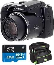 $149 » Polaroid 18MP 40x Zoom Instant Digital Camera with 3-inch TFT, Black IE4038-BLK-STK-4 Bundle w/Deco Gear Camera Bag Case +...