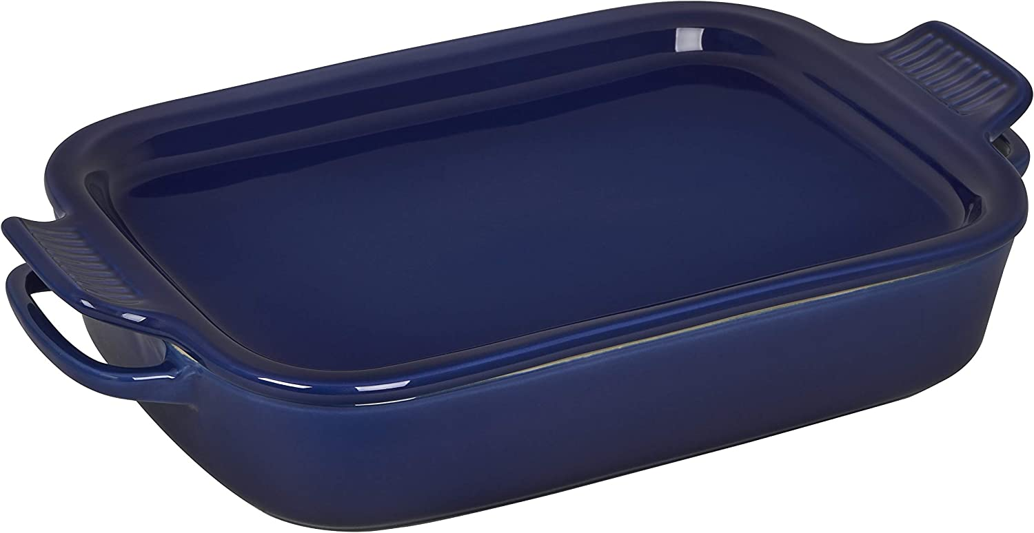 Popular Jacksonville Mall products Le Creuset Stoneware Rectangular Dish with Lid Platter 14 4