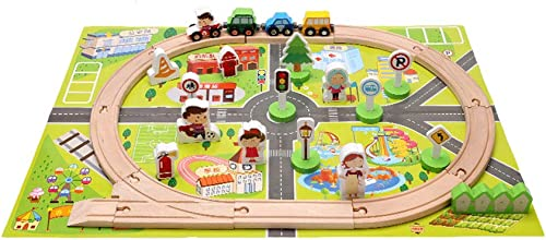 LINGLING-Verfolgen Kinder Spielzeug Glide Road Car Puzzle Spiel Wettbewerb Boy (Farbe   L)