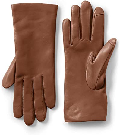 Imperial Cashmere Lined Leather Touch Tech Gloves Black Size XL