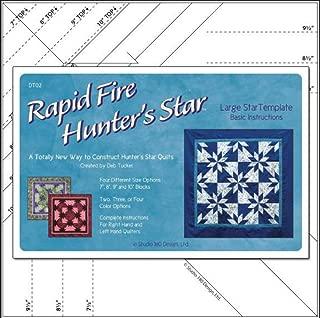 rapid fire hunter's star quilt pattern