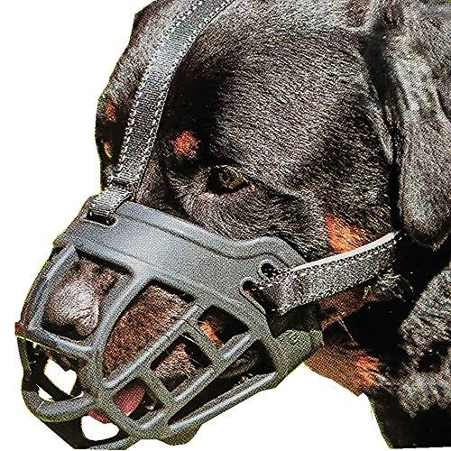 Ulalaza Bozal de Silicona para Perros Evitar morder Masticar Ladrar Entrenamiento Bozal de Perro para Perros pequeños medianos Grandes