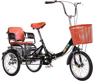 Jlxl Vuxen Tricycle Cykel Recumbent Cyklar 3 Hjul Cyklar Kryssnings Trike Med Bakre Kundvagn Justerbar Sits Och Styr För S...