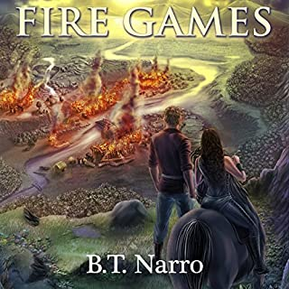 Fire Games audiobook cover art