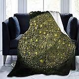 NotApplicable Blanket Dance Gavin Dance Fleece Blanket All Season Ultra-Soft Couch Bed Throw Blanket Warm Adultos Niños 3 Tamaños Teen Boy Girl 127X102cm