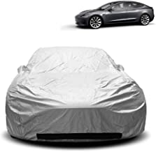 XtremeCoverPro 2018 2019 Tesla Model 3 CAR Cover Sedan 2018 UV Protection Vehicle Accessories Breathable Car Cover Indoor Outdoor Protection Dust Cover Pocket Mirror