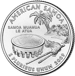 2009 D American Samoa State Quarter Choice Uncirculated