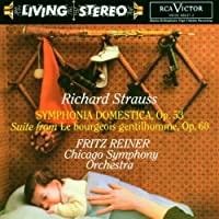 Strauss: Symphonia Domestica / Bourgeois Gentilhomme