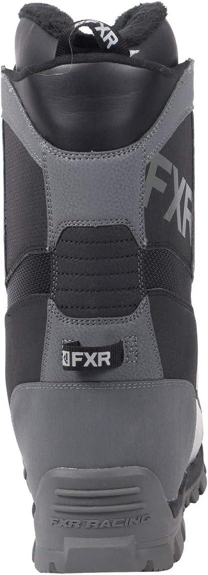 FXR Backshift BOA Boot Black//Charcoal, Mens 8 // Womens 10