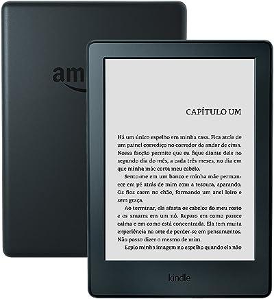 Kindle (cor preta) com tela sensível ao toque e Wi-Fi , 8a. Geração