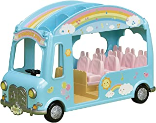 Calico Critters Sunshine Nursery Bus for Dolls, Toy Vehicle
