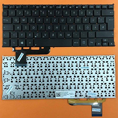 kompatibel für Asus VivoBook X201, X201E Tastatur - Farbe: schwarz - ohne Rahmen - Deutsches Tastaturlayout - Version 2