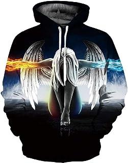 Dorathy Unisex Pullover Sweatshirt Triangle Colorful Hoodie Hip Hop Sportswear