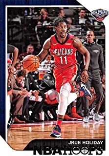 2018-19 NBA Hoops Basketball #181 Jrue Holiday New Orleans Pelicans Official Trading Card made by Panini