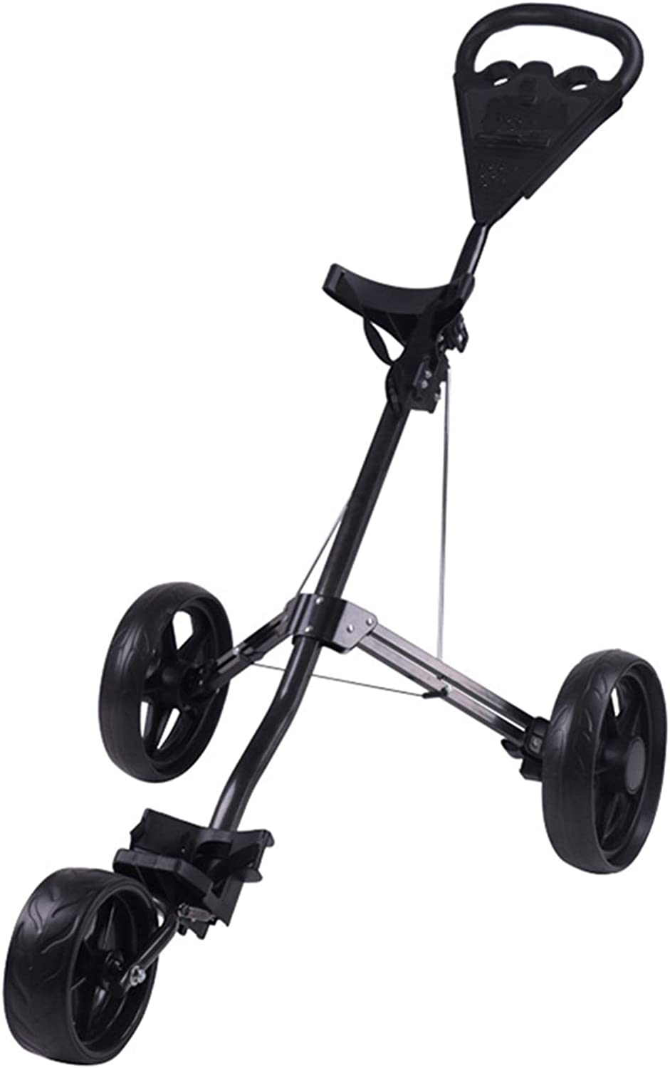 All stores are sold Golf Push Cart Foldable Wheels 3 Lightweight Raleigh Mall Pull