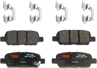 TRW TPC1393 Premium Ceramic Rear Disc Brake Pad Set