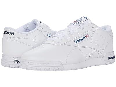 Reebok Lifestyle Exofit Lo Clean Logo Int (Int/White/Royal Blue/Royal Blue) Men