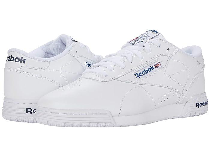 Mens Vintage Shoes, Boots | Retro Shoes & Boots Reebok Lifestyle Exofit Lo Clean Logo Int $74.95 AT vintagedancer.com