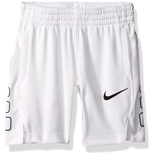 22b624a201f0 Basketball Shorts White and Black  Amazon.com