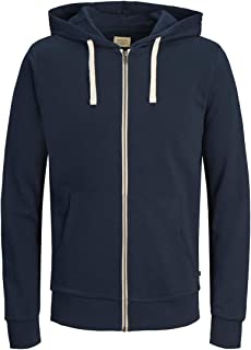 JACK & JONES Jjeholmen Sweat Zip Hood Noos Felpa Uomo