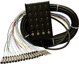 Rapco Horizon SMC1604FBQ50 16 x 4 50-Feet Audio Snake with 1/4-Inch 16-Channel
