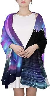 Scarfs for Women Sugar Skull Lightweight Fashion Long Shawl Wraps