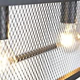 Zoom IMG-2 qazqa lampada a sospensione cage