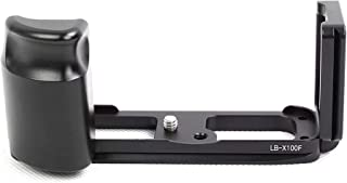 FUJI X-100FクイックリリースL型プレートブラケットハンドグリップ(FUJI X100F用)