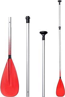 Kajakpaddlar,flytande kajak,avtagbar forsrännings kano-flott paddla,lätt justerbar längd Örtillbehör,för havsvattensport,o...