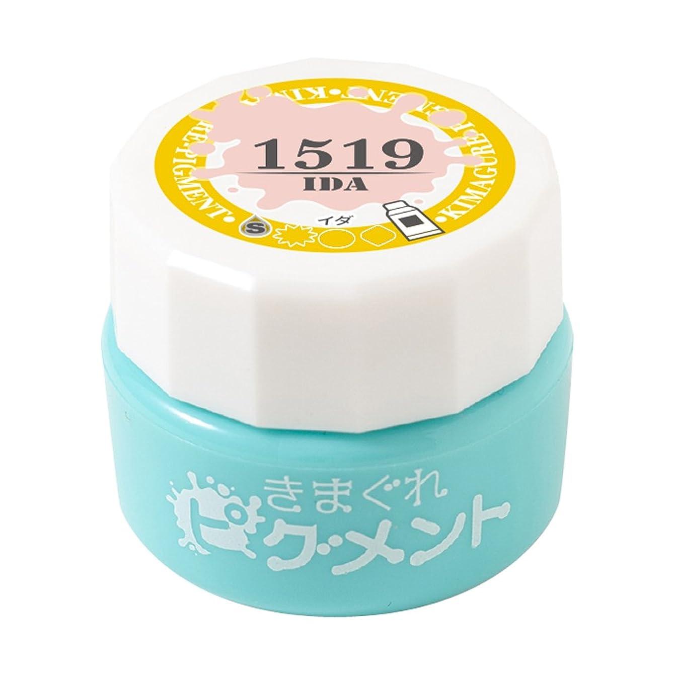 コミュニティゴム有効Bettygel きまぐれピグメント イダ QYJ-1519 4g UV/LED対応