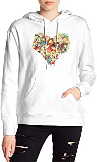 VJJ AIDEAR Fairy Tail Women's Sweater Printed Hoodied Long Sleeve Coat