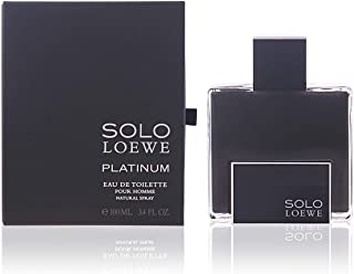 Loewe, Solo Loewe Platinum Edt Vapo 100 Ml , Zapach, Wielobarwny, U, Człowiek