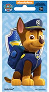 Paw Patrol - Chase Jumbo Sticker   Party Favor