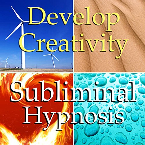 Develop Creativity Subliminal Affirmations audiobook cover art