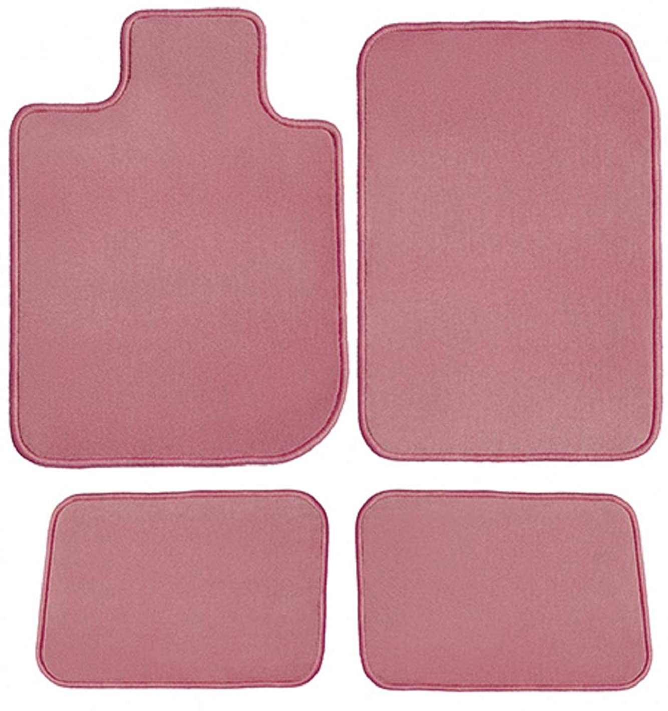 GGBAILEY Ford Expedition EL 2007, 2008, 2009, 2010, 2011, 2012, 2013, 2014, 2015, 2016, 2017 Pink Driver, Passenger & Rear Floor Mats