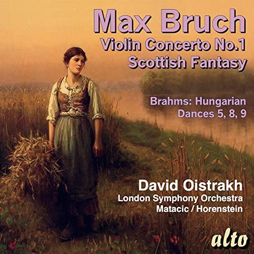 David Oistrakh, Vladimir Yampolsky, Lovro von Matacic, Jascha Horenstein & London Symphony Orchestra