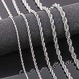 Yongqxxkj - Collar de acero inoxidable de estilo masculino, cadena del partido Club Banquet, regalo – 5 mm Goldenw