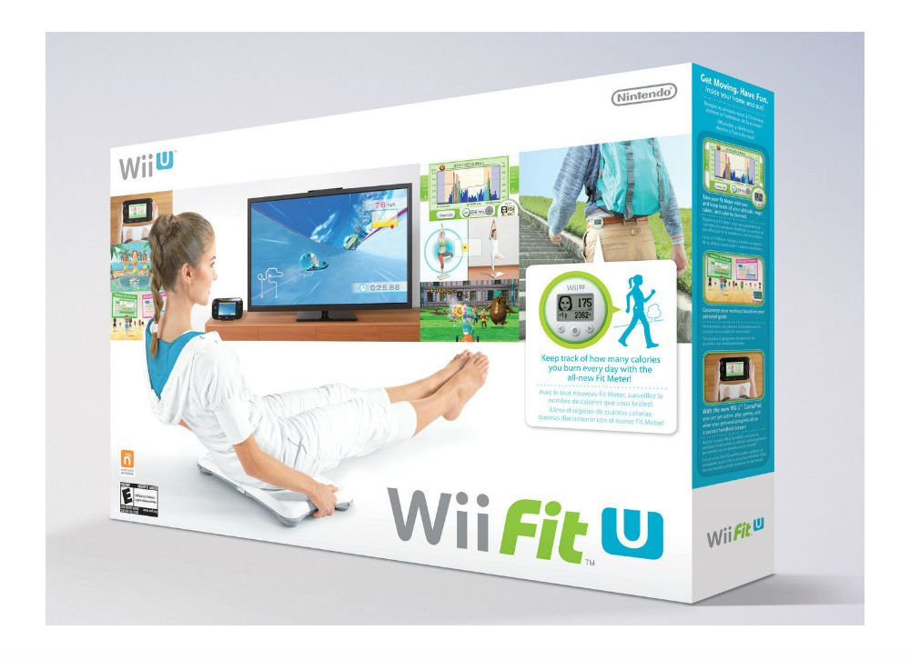 Wii Fit U, Fit Meter,and Wii Balance Board