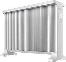 Chauffe-plats Radiateur radiateur télécommandé 2 dossiers appareil de chauffage domestique à économie d'énergie 18 heures ...
