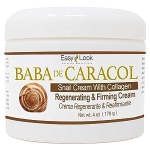Baba de Caracol Snail Cream With Collagen Regenerating & Firming Cream Crema Regenerante & Reafirmante