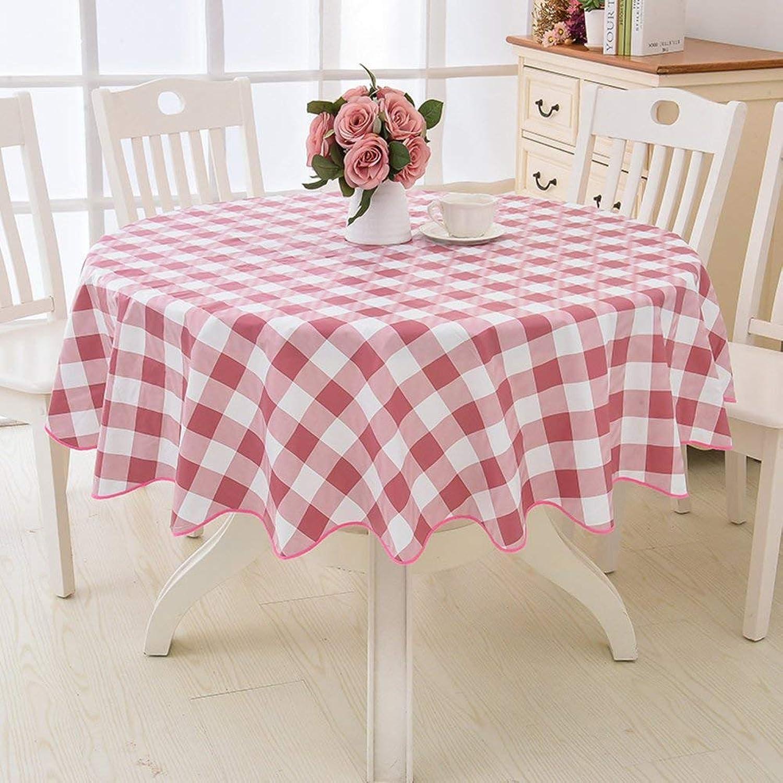 marca de lujo WENYAO Large Round Tablecloth Hotel Plastic Round Round Round Tablecloth Waterproof Oil-Proof Anti-Hot Big Round Tablecloth,J_Diameter 180cm  venta mundialmente famosa en línea