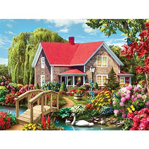 zxddzl Malerei Digitale Landschaft acrylmalerei Moderne Bild Dekoration Wohnzimmer 13 40 * 50 cm