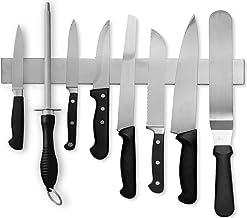 Noosa Life | Magnetic Knife Strip Holder | Premium 40cm Stainless Steel | Multipurpose Knife Bar - Knife Rack, Knife Strip, Kitchen Utensil Holder, Tool Organiser, Art Supply Organiser & Home Organiser | Upgraded w/ Powerful Magnetic Force