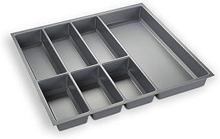 Orga-Box Cubertero Gris Plata para Cajones de 60 cm p.ej.